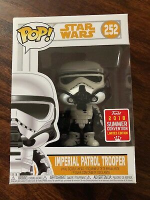 FUNKO POP! A Star Wars Story Imperial Storm Trooper 2018 Summer Convention