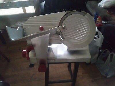 "Berkel 827A-PLUS 12"" Manual Gravity Feed Meat Slicer 1/2hp Restaurant Appliance"
