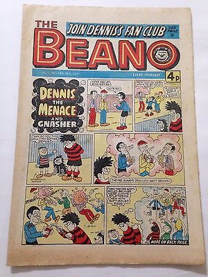 DC Thompson THE BEANO Comic. Issue 1806. February 26th 1977 **FREE UK POSTAGE**