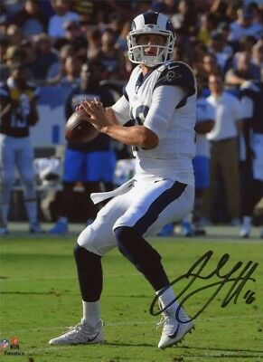 Los Angeles Rams Jared Goff Autographed RP Photo