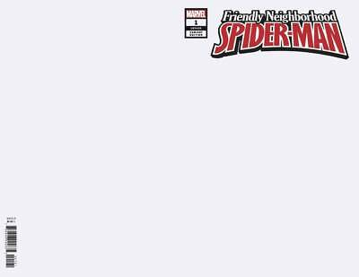 Friendly Neighborhood Spider-Man # 1 Blank Variant NM Marvel