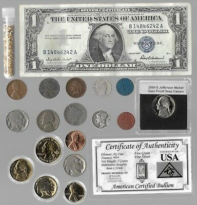 Rare Old Silver Dollar Barber Mercury Indian Liberty US Coin Collection Lot Gold