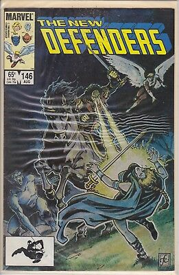 The New Defenders Aug #146 Marvel Comic Book 1985