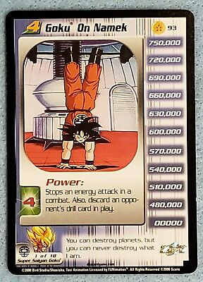 Dragon Ball Z CCG Rescuing Drill CR4! Colossal Redemption Promo!!