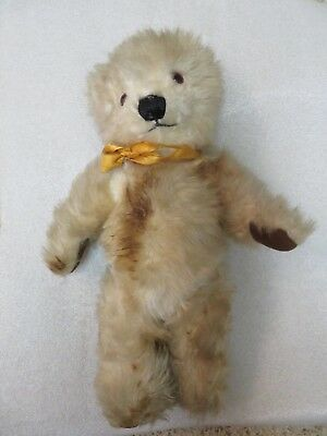 Vintage Merrythought Ironbridge Shrops 14in. Teddy Bear, Made in England