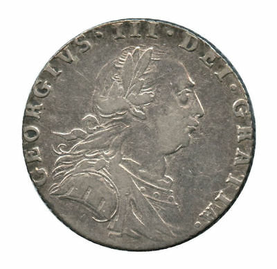 1787 Great Britain Silver 6 Pence