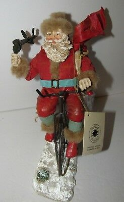 Vintage Santa Claus On Bicycle By Kurt Adler Smithsonian Institution