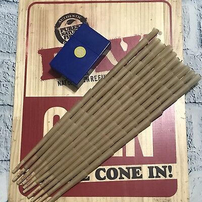 RAW Organic King Size Authentic Pre-Rolled Cones with Filter~100 Pack~FREE GIFT