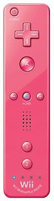 OFFICIAL Nintendo Wii Remote Plus PINK Game Controller Wireless Motion INSIDE B