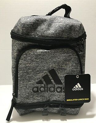 db3908fdd28 Adidas INSULATED Lunch Pack ~3 Compartments~Backpack Fastener~Water Mesh  Pocket