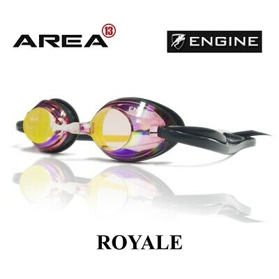 Engine Royale Fire Red Swimming Goggles, Engine Goggles, Swimming Goggles