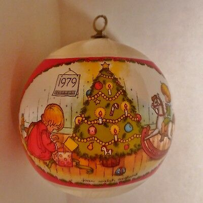"""1979 HALLMARK Tree-Trimmer Collection ORNAMENT--JOAN WALSH ANGLUND-4.25"""""""