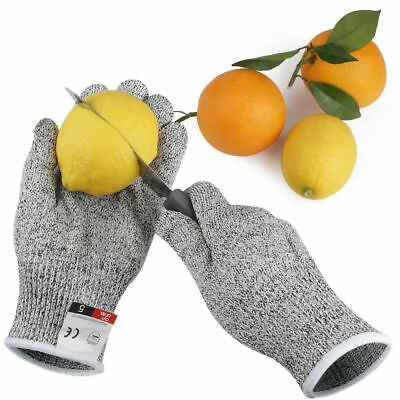 Hot Resistant Gloves+Meat Cut Wood Carving Level 5 Protection Certified Safety