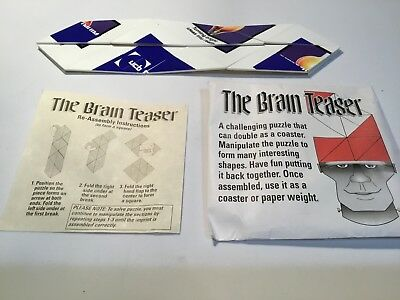 Ucb Pharma Brain Teaser Puzzle/game Drug Rep Promo New In Package