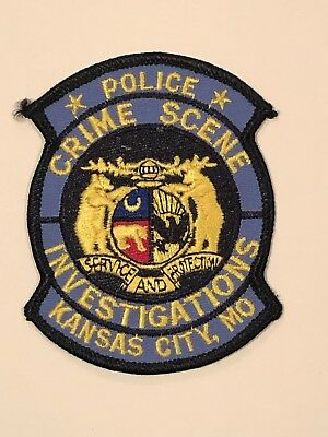 Kansas City Police Department (KCPD)  Crime Scene Investigations Patch