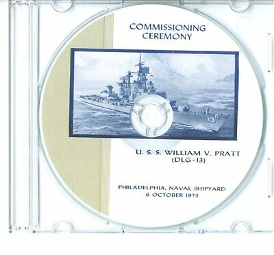 USS Biddle DLG 34 Commissioning Program 1967  Navy Plank Owners Veterans