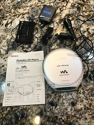 Sony Walkman Car Ready CD Player with G Protection