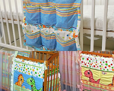 BABY COT/Cot Bed  TIDY/ TOYS BAG / ORGANIZER DINO