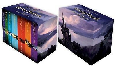Harry Potter Box The Complete Collection Of Seven Novel Book Ages 7+ Years Gift