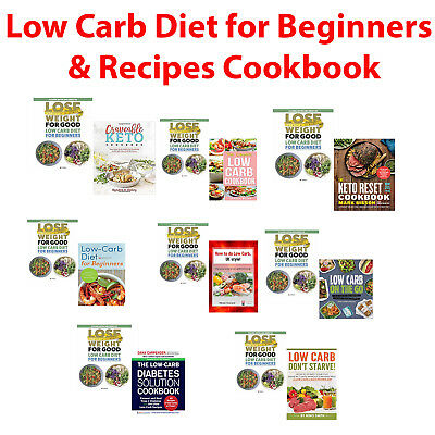 How to do Low Carb Diet ,Keto Reset ,Craveable ,Essential, UK Style books Set