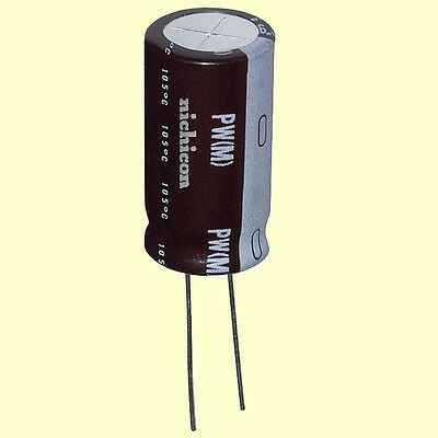 4 pcs Nichicon Elko Audio Grade UFW1H222MHD  2200uF 50V 16x35,5mm RM7,5 85°  #BP