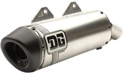 DG Performance V2 Slip-On Muffler Aluminum Stainless Steel 071-4204 1821-1679