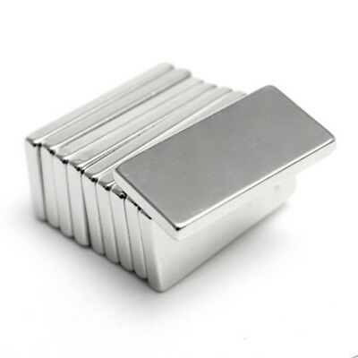 5/10/20/50Pcs 20x10x2mm Strong N50 Neodymium Rectangle Rare Earth Magnet Mystic