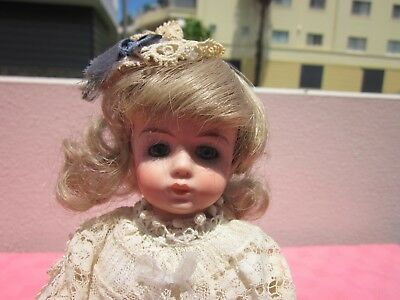 Hand Made Reproduction Albert Marque Porcelain Doll,rare,101/2' W/ Nice Outfit