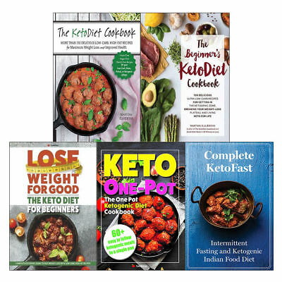 KetoDiet Cookbook Collection  5 Books Pack Set Lose Weight For Good  KetoFast