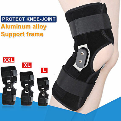 Hinged Knee Arthritis Support Brace Guard Stabilizer Strap Wrap Quality Support