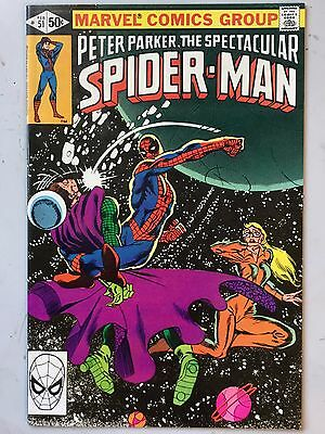 The Spectacular Spider-Man - #51 Bronze Age FN Feb 1981 Stern Severin Frank Mill