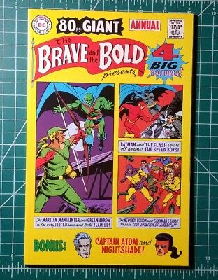THE BRAVE AND THE BOLD GIANT 1969 ANNUAL#1 (2001 Reprint) DC Comics NM TPB