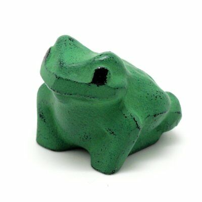 Nanbu tekki Iwachu Japanese cast iron paper weight 'Frog'