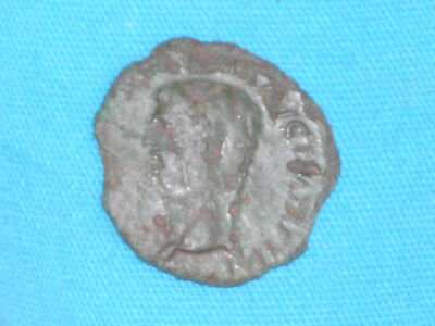 Ancient Roman Imperial Coin Claudius A.d. 41- 54 Ceres Old Metal Detecting Find