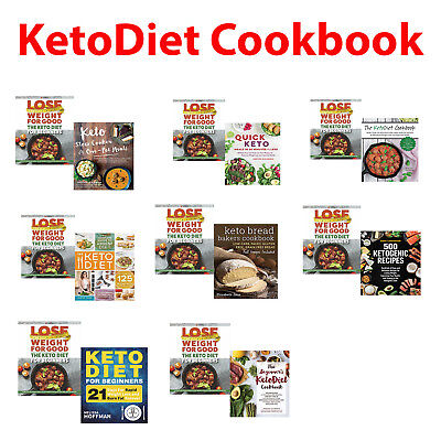 Keto Diet for Beginners, Cookbook Slow Cooker & One-Pot ,Quick Meals Books Set