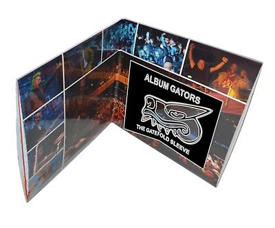 """25 x 12"""" Inch Plastic Outer Record Sleeves For Double Vinyl Gatefold LP Albums"""
