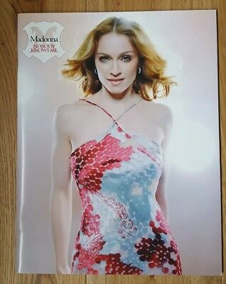 Madonna Rare Nobody Knows Me Official Fan Club Book 2004 Icon Limited Edition