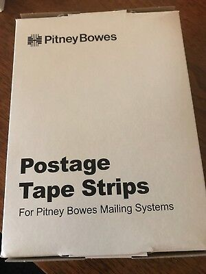 New Pitney Bowes Postage Tape Strips 625-0 (300 Ct) Perforated Tapes +100 More