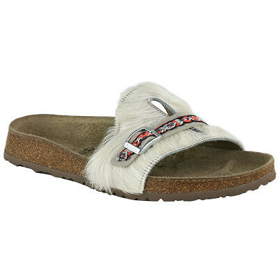 9d193303f01 REDUCED PAPILLIO BY Birkenstock LOLA Leather Frosted Metallic Rose ...