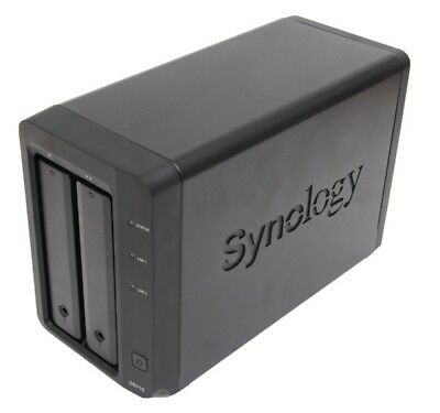 Synology DiskStation DS715 2-Bay NAS Enclosure Network Attached Storage NEW
