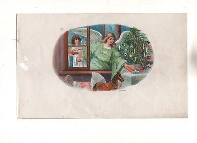 Old Labels Happy Christmas / Printed Germany 1920