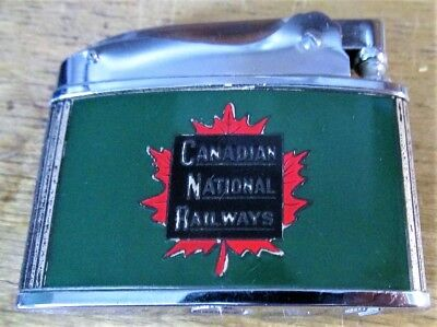 CNRy Canadian National Railways Railroad 1950s 60s Advertising Cigarette Lighter