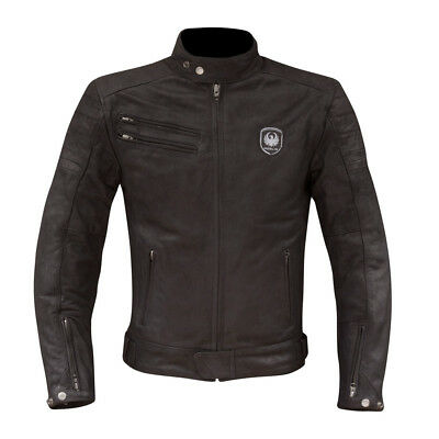 NEW Merlin Alton Men's Leather Cafe Motorcycle Touring Jacket