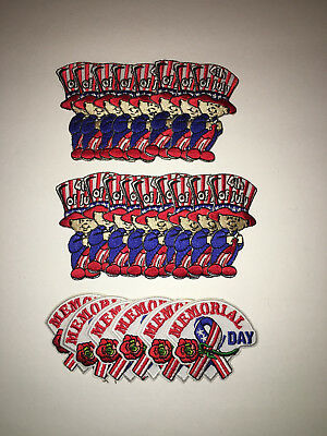 Girl Scout 4th of July/Memorial Day Patch. New/never been used.