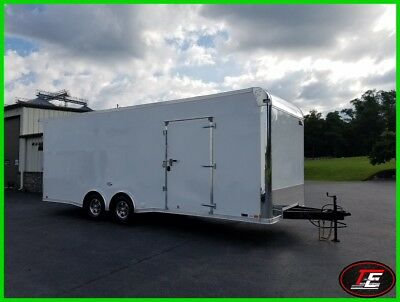 24' United X-Height Spread Axle Stage II Circle Track Race Trailer