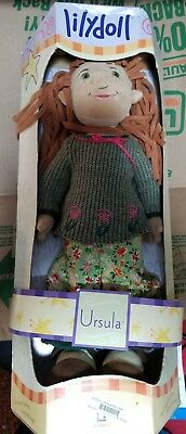 """Lilydoll Ursela Toy 18"""" Cloth Classic Play Doll new in box. from 2000"""