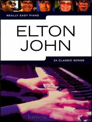 Really Easy Piano Elton John Sheet Music Book Songbook 24 Classic Songs