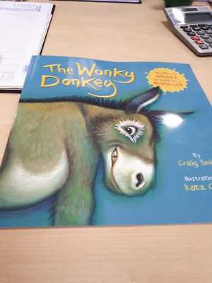 The Wonky Donkey paperback childrens book