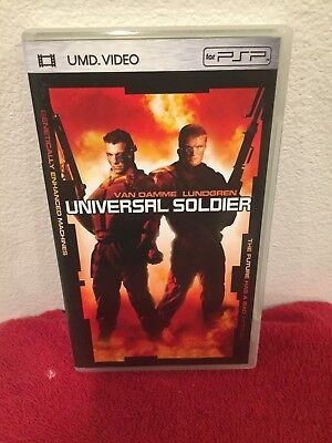 Universal Soldier UMD For PSP FREE SHIPPING !!