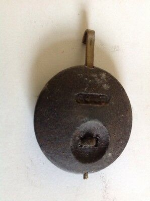 Antique Clock Pendulum 104g 48mm Diameter 65mm Long  Spare Part